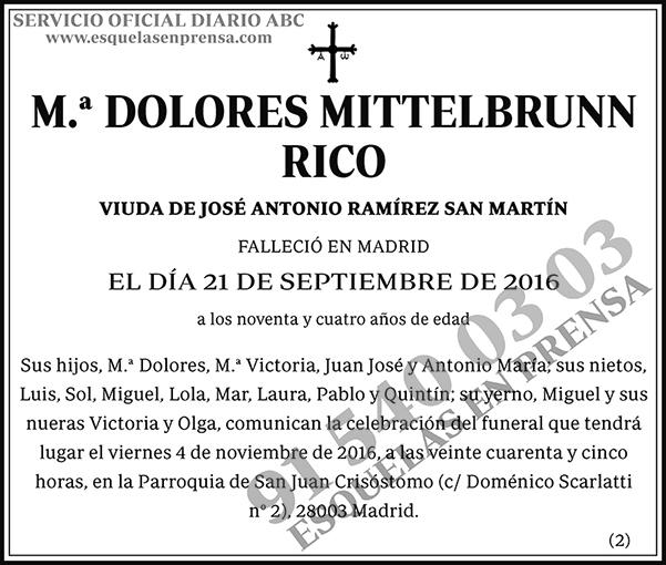 Dolores Mittelbrunn Rico